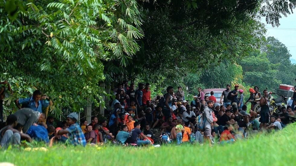 México localiza casi 150 mil migrantes irregulares de enero a agosto - México localiza casi 150 mil migrantes irregulares de enero a agosto. Foto de EFE