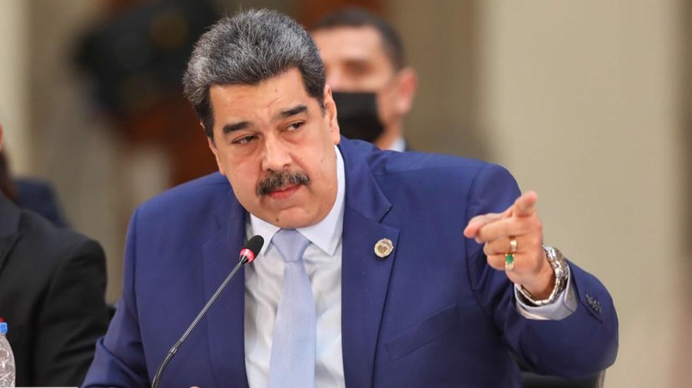 Senadores de EE.UU. reclaman que AMLO no extraditara a Nicolás Maduro en su visita a México - Nicolás Maduro durante reunión de la Celac en México