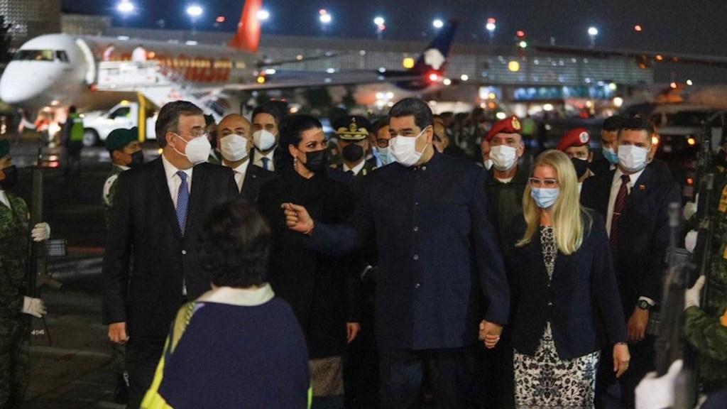 """""""Que la Celac sea nuestro camino"""", la propuesta de Maduro a su llegada a México - Foto de SRE"""