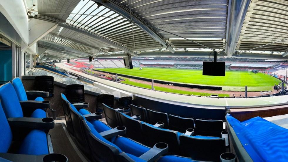 Ganador donará palco en el Estadio Azteca porque no le gusta el futbol - Palco en el Estadio Azteca