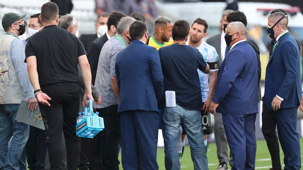 Asociación del Fútbol Argentino, sorprendida por suspensión de partido ante Brasil - Brasil Argentina partido