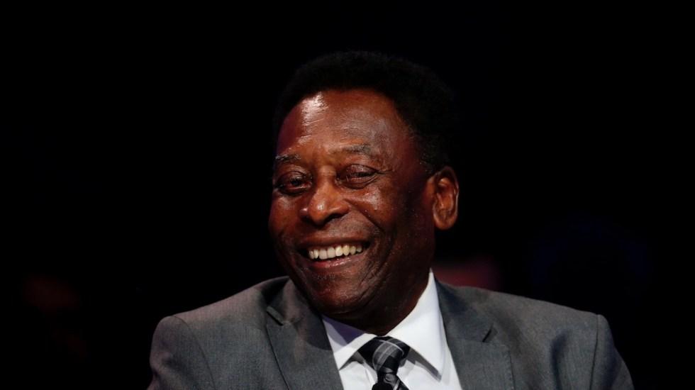 Pelé felicita a Messi por superar su récord de goles con selecciones - Pelé felicita a Messi por superar su récord de goles con selecciones. Foto de EFE