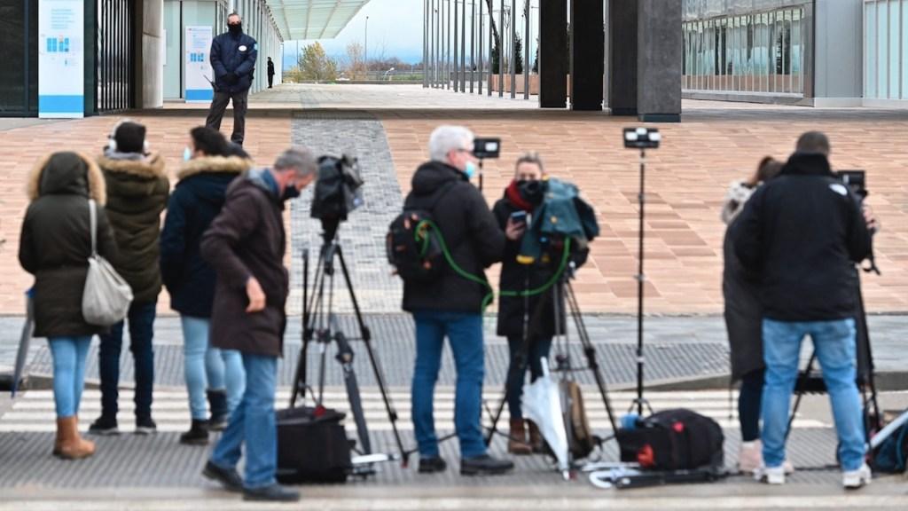 Periodismo, una de las profesiones más expuestas durante la pandemia. Foto de EFE