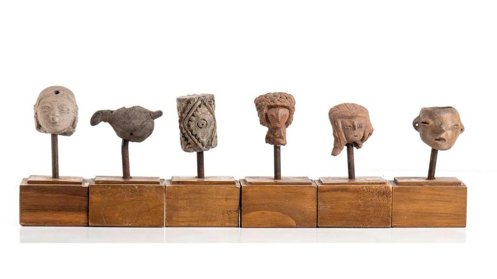 """México muestra a Italia su """"indignación"""" por subasta de piezas arqueológicas - Piezas arqueológicas de México que se subastarán en Roma, Italia"""