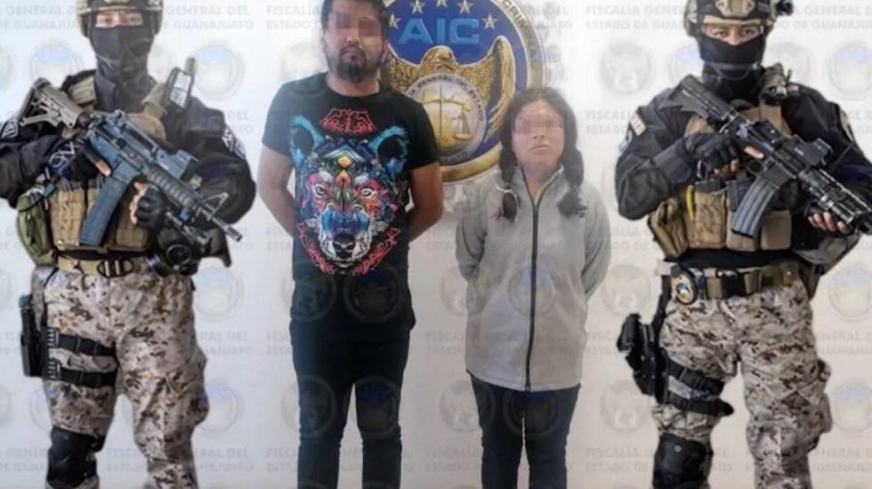 Vinculan a proceso a pareja detenida por caso de explosión en Salamanca - Continuará este sábado audiencia de presuntos autores de ataque en Salamanca. Foto de Fiscalía Guanajuato
