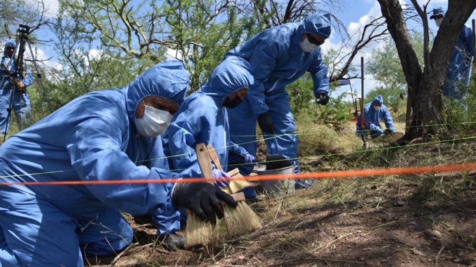 Suman 101 mil 106 homicidios dolosos en lo que va del sexenio - Procesamiento de restos óseos en Sonora, identificados de indígenas yaquis