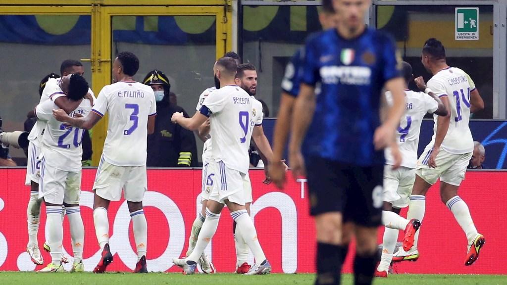 Real Madrid logra agónico triunfo ante el Inter de Milán en Champions - Real Madrid Champions Inter de Milán