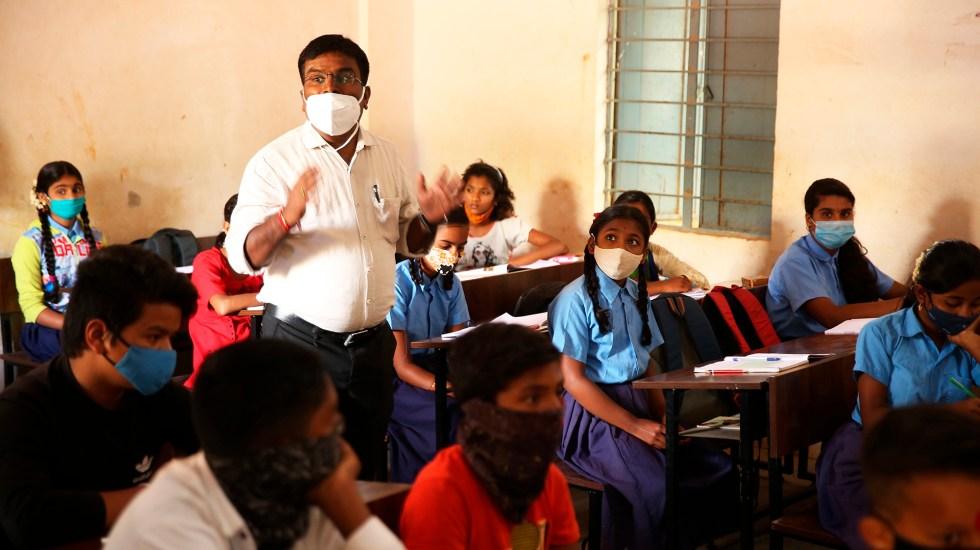 Unicef insta a priorizar el regreso de los niños a la escuela - Regreso a clases presenciales en India