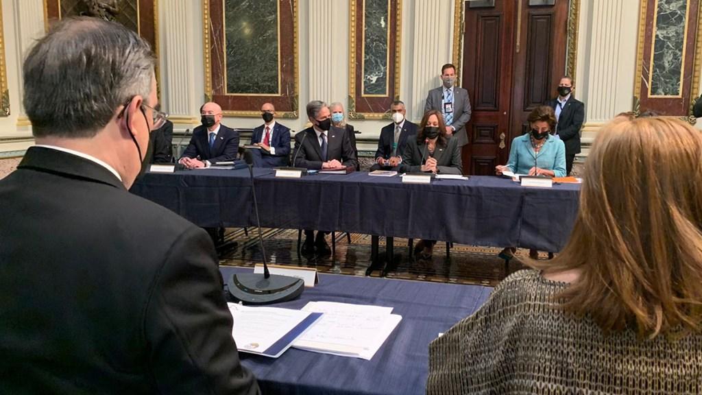 México y Estados Unidos inician Diálogo Económico de Alto Nivel - Reunión México-EE.UU. por DEAN