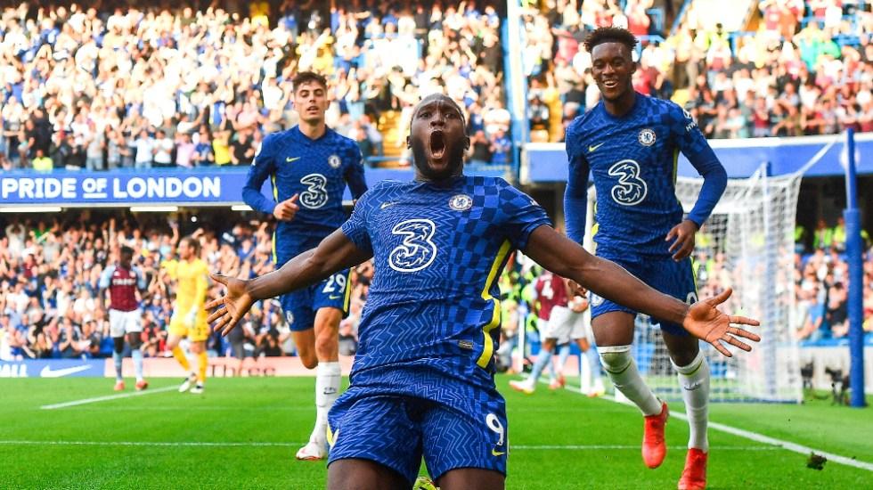 Lukaku se estrena con doblete en Stamford Bridge - Romelu Lukaku