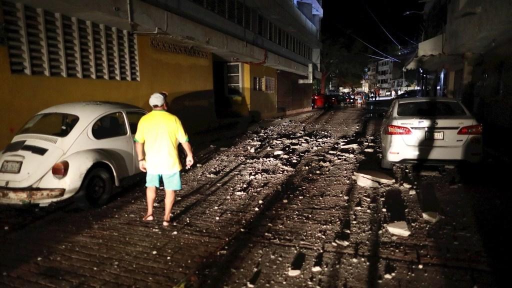 Un muerto en Guerrero tras sismo magnitud 7.1 - Sismo Guerrero daños Acapulco Coyuca