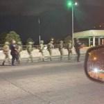 Detienen a militares mexicanos en Puente Internacional Córdova-Américas