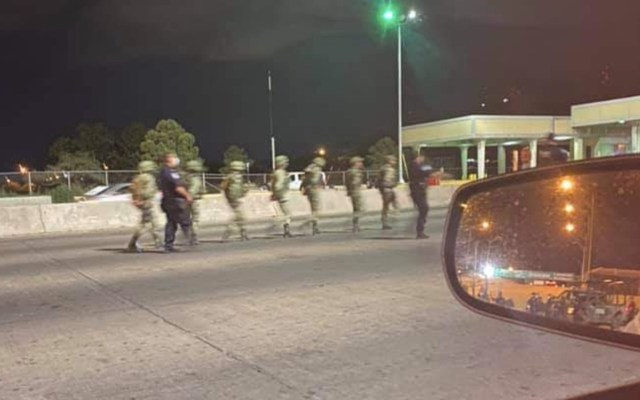 Detienen a 14 militares mexicanos en la frontera; fueron liberados horas después - militares mexicanos detenidos Texas