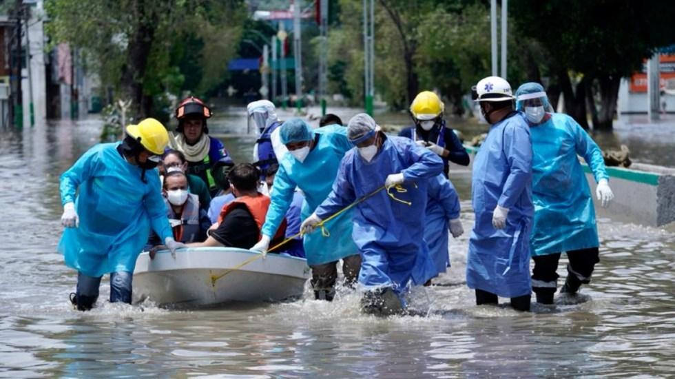 Apoyos a víctimas de inundación en IMSS de Tula no serán solo 40 mil pesos, aclaran - hospital Tula Hidalgo traslado pacientes IMSS