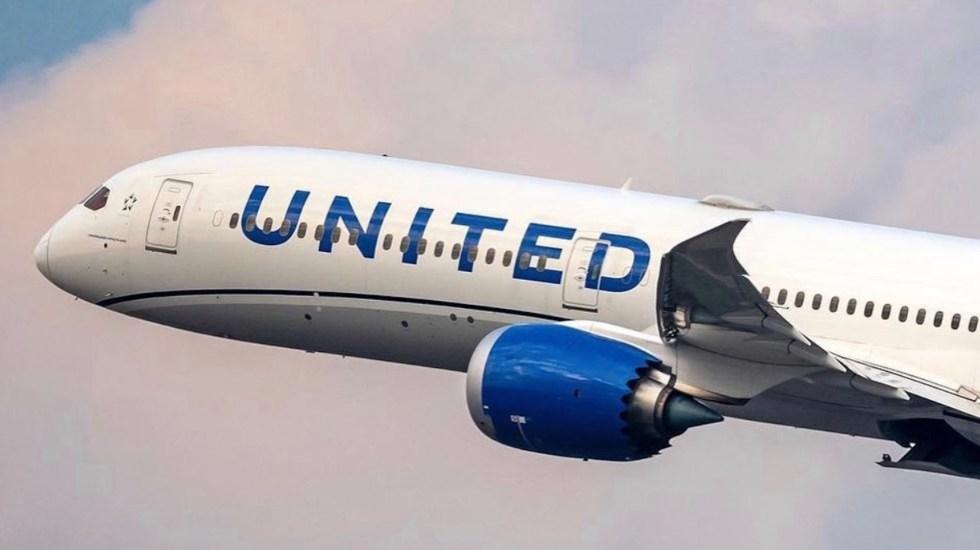 United Airlines redujo número de trabajadores sin vacunar - United Airlines redujo número de trabajadores sin vacunar Foto de Twitter United Airlines