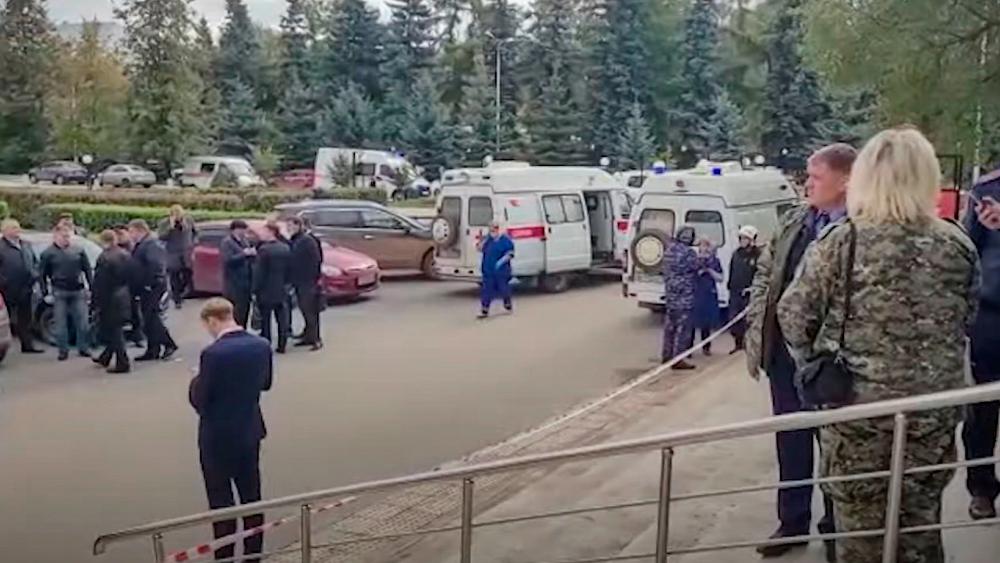 Al menos 8 muertos y 24 heridos tras tiroteo en universidad de Rusia - Universidad Perm Tiroteo Rusia