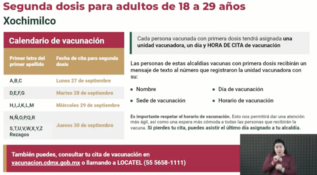 Covid-19: La vacuna se aplicará en estos lugares de la CDMX la próxima semana 3