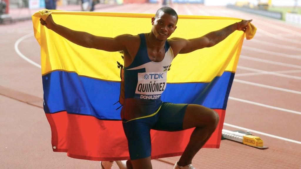 Asesinan al velocista olímpico Alex Quiñónez en Ecuador - Asesinan al velocista olímpico Alex Quiñónez en Ecuador. Foto de EFE