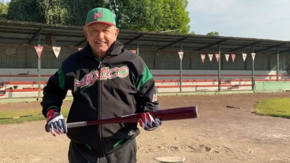 Comparte López Obrador su quiniela para los Playoffs de las Grandes Ligas - AMLO Andrés Manuel López Obrador Beisbol MLB