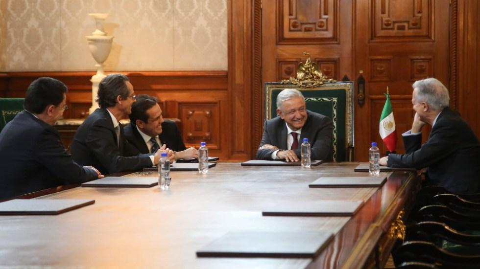 AMLO se reúne con directivos de empresa francesa aeroespacial Safran - AMLO López Obrador empresa Safran