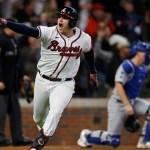 MLB: Braves pegan primero en la Serie de Campeonato de la Liga Nacional - Austin Riley Atlanta Braves