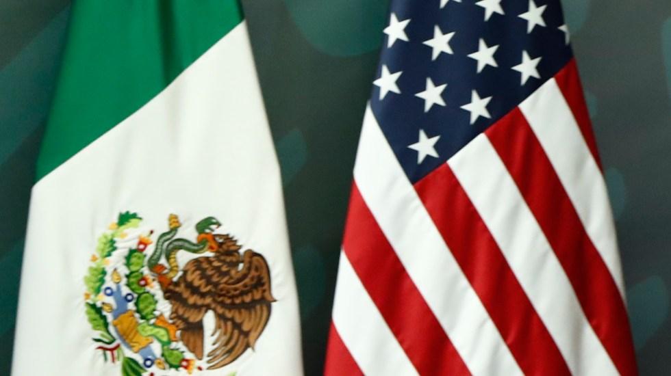 Entendimiento Bicentenario, el reto de ser más que un plan de seguridad - Banderas de México y Estados Unidos