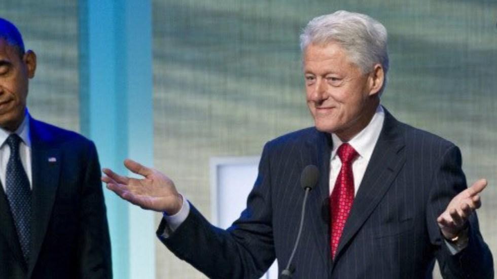 Hospitalizan al expresidente Bill Clinton por infección - Bill Clinton presidente Estados Unidos