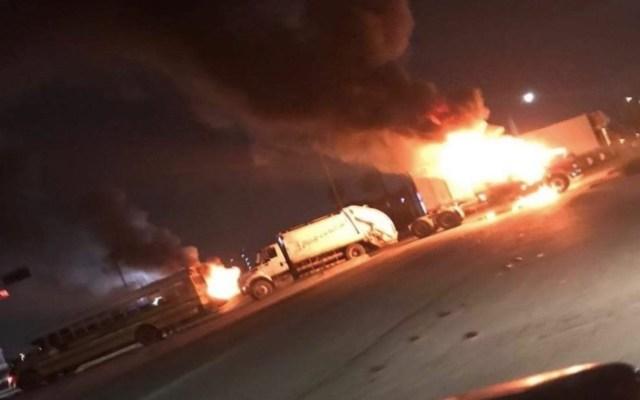 EE.UU. pide a sus ciudadanos no viajar a Tamaulipas tras enfrentamientos en Matamoros - Al menos tres personas lesionadas por ataques en Matamoros. Foto de Twitter @JoseAntonioLo06 alerta