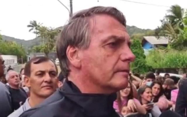#Video Niegan entrada a partido a Bolsonaro por no estar vacunado - Bolsonaro tras negársele entrada a partido de futbol