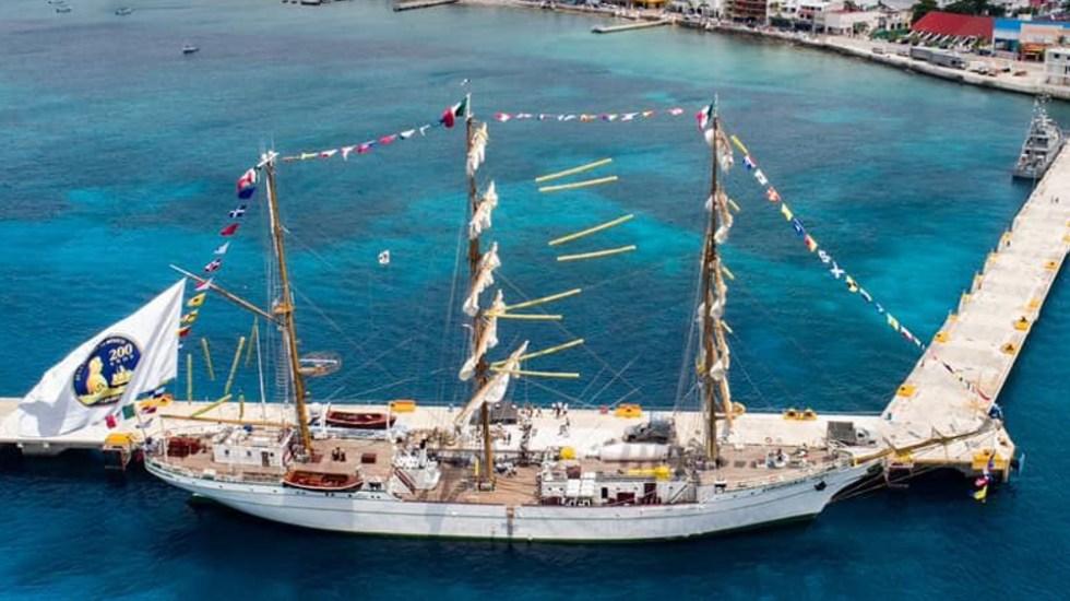 """Buque escuela mexicano Cuauhtémoc será """"figura estelar"""" en Expo Dubái - Buque escuela velero Cuauhtémoc"""