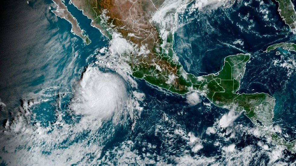 Pamela se fortaleció este martes a huracán categoría 1 - ciclón Pamela 11oct21