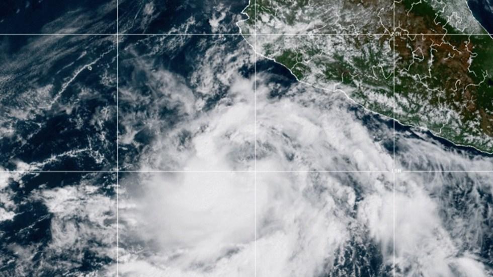 Alerta depresión tropical en las costas de Jalisco; podría convertirse en huracán - Depresión tropical Dieciséis-E