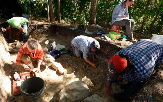 Descubren cerca de 500 sitios ceremoniales prehispánicos al sur de México - Descubrimiento de sitios ceremoniales prehispánicos en México