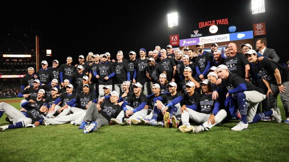 Dodgers derrotan a Giants y pasan a la Serie de Campeonato - Dodgers Partido