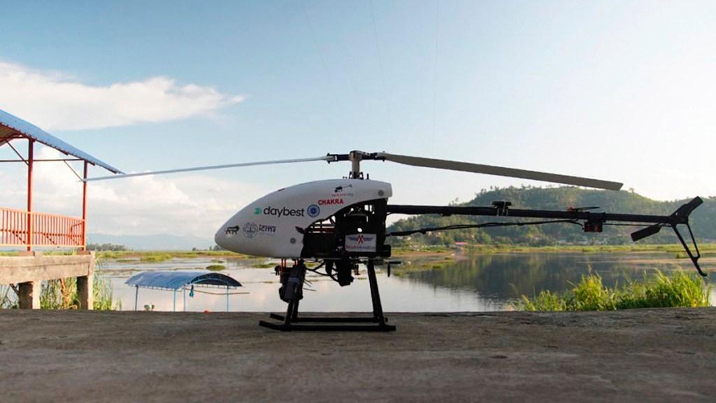 India usa drones para repartir vacunas en zonas de difícil acceso - Drones usados en India para reparto de vacunas contra COVID-19