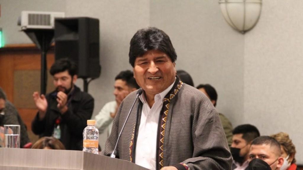 Evo Morales apoya propuesta de AMLO de nacionalización del litio - Evo Morales apoya propuesta de AMLO de nacionalización del litio. Foto de Twitter Evo Morales