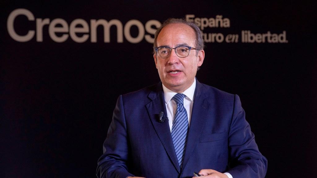 """Petición de perdón es """"cortina de humo"""" para tapar criminalidad y corrupción: Felipe Calderón - Felipe Calderón en convención del Partido Popular"""