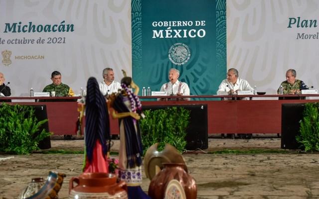 Gobierno de México presenta plan de apoyo para Michoacán ante azote del crimen - Gobierno AMLO Michoacán plan de apoyo