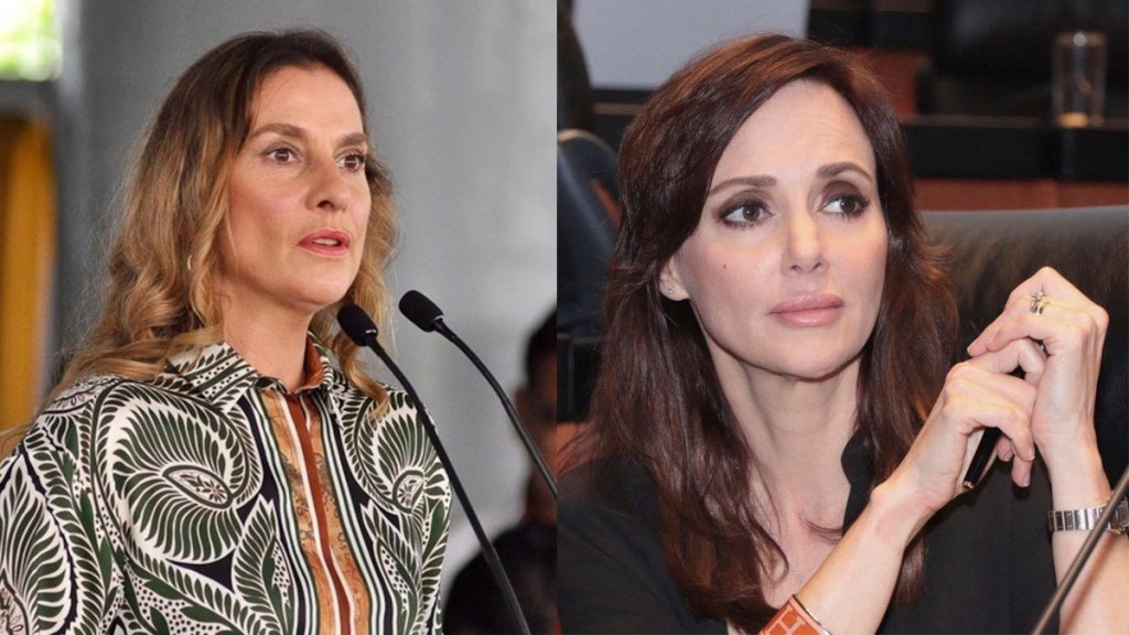 """Gutiérrez Müller condena """"ataques viles"""" contra Lilly Téllez y su hijo - Gutiérrez Müller y Lilly Téllez"""