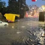 #Videos Inundaciones en Tepoztlán, Morelos, tras fuerte lluvia