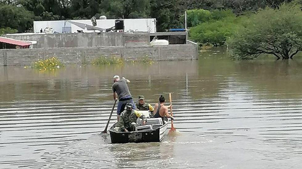 Siguen inundados al menos 10 fraccionamientos en Tequisquiapan - Inundaciones en Tequisquiapan