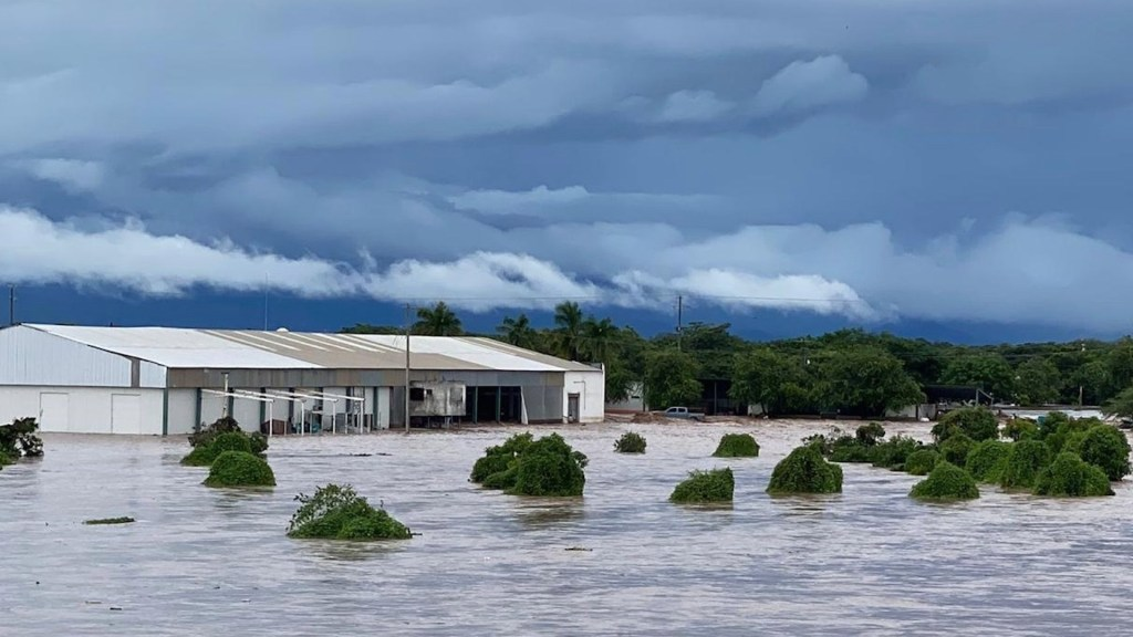 Pamela deja severas inundaciones en Nayarit - Pamela deja severas inundaciones en Nayarit. Foto de Protección Civil México
