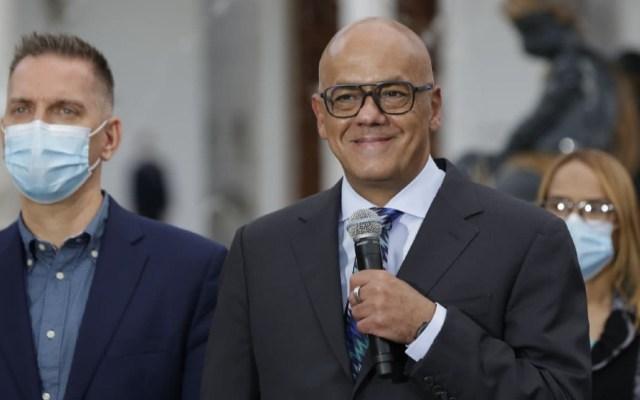 Gobierno de Venezuela interrumpe diálogo con oposición por extradición de Saab - Jorge Rodríguez Venezuela Saab