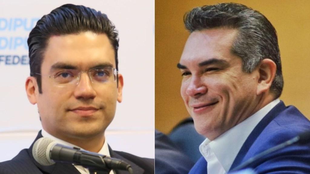 PAN da ultimátum al PRI por reforma eléctrica; Alejandro Moreno responde - Jorge Romero Herrera y Alejandro Moreno PAN PRI