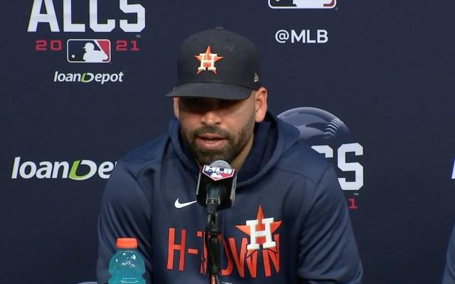 José Urquidy será el abridor de Astros para el tercer juego con Boston - Jose Urquidy. Foto MLB / Captura de Pantalla.