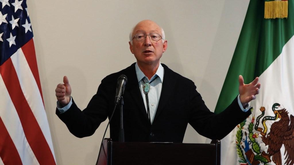 México y Estados Unidos buscarán solución al tema migratorio - México y Estados Unidos buscarán solución al tema migratorio. Foto de EFE