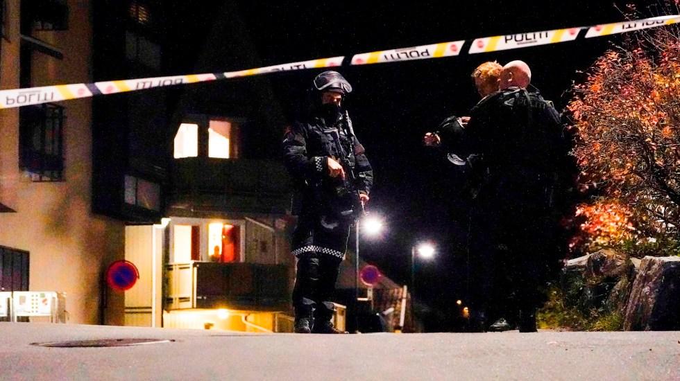 Hombre armado con arco y flechas causa varios muertos y heridos en Noruega - Noruega Foto de EFE/ EPA/ HAKON MOSVOLD LARSEN.