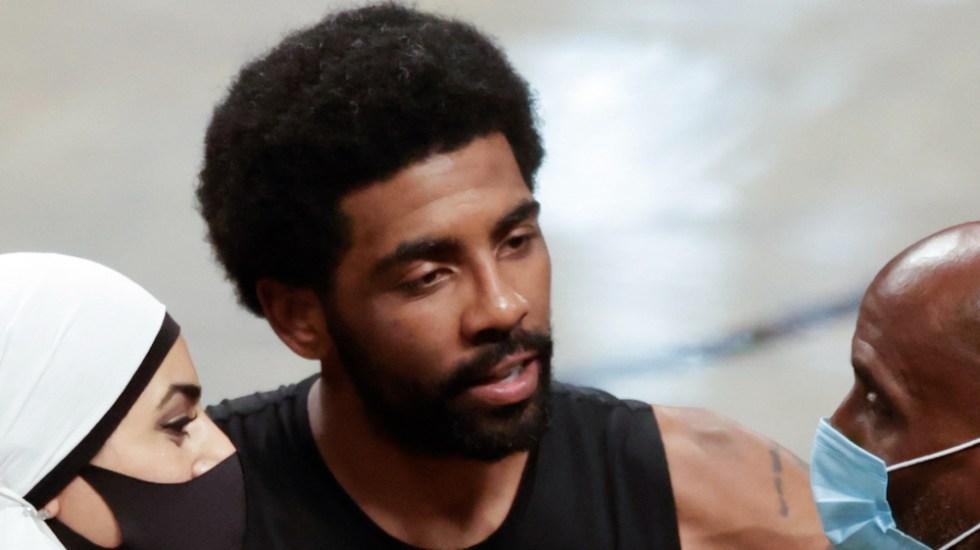 Nets no admitirán a Irving en el equipo hasta que se haya vacunado - Kyrie Irving Nets Brooklyn