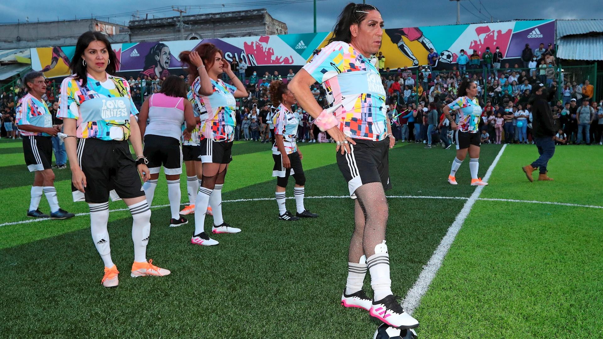 Las Gardenias Equipo Futbol trans tepito