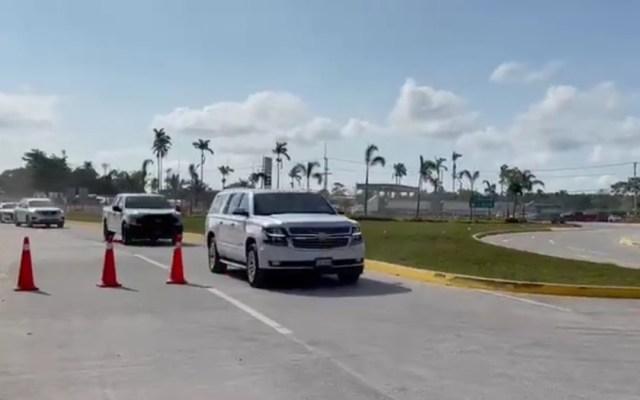 Rocío Nahle visita la refinería de Dos Bocas tras protestas - Llegada de Rocío Nahle a Dos Bocas